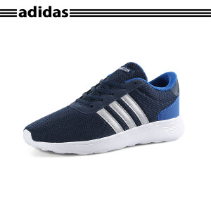 Adidas/阿迪达斯大童运动休闲跑步鞋AW4053