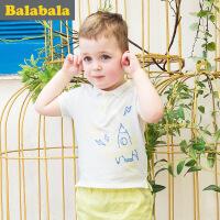 巴拉巴拉儿童短袖t恤小童宝宝上衣童装夏装男童T恤男