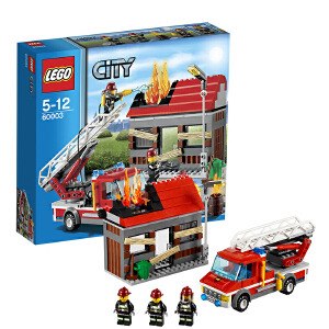 [当当自营]LEGO 乐高 CITY城市系列 火警救援 积木拼插儿童益智玩具 60003