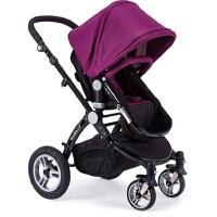 ISABELLA充气避震高景观婴儿推车双向折叠可躺坐bb手推车
