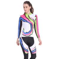 山地车自行车服短袖长袖套装户外运动骑行服男女款