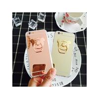 iPhone6 6s手机壳苹果6plus软胶4.7支架指环5.5se镜面硅胶保护套