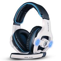 赛德斯 SA-903专业游戏耳机头戴式 7.1声道 WCG电脑耳麦usb