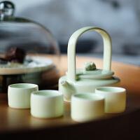 【如果出品】秦玮鸿高档陶瓷创意功夫茶壶咖啡壶茶具套装
