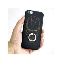 【包邮】智尚 个性潮男iphone6 6S手机壳指环扣支架外壳苹果6Plus保护