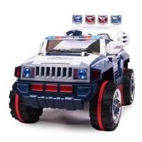 华达 新款悍马遥控车 越野车 可6档调速儿童电动车 外接MP3童车