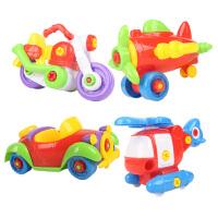 儿童益智拆装工程车玩具男孩可拆卸组装宝宝螺丝动手玩具1-2-3岁