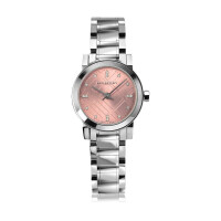 Burberry 博柏利时尚镶钻钢带石英女士手表BU9223巴宝莉手表石英