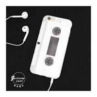 【包邮】智尚 创意磁带iPhone6S手机壳 防摔苹果6Plus保护套硅胶5S