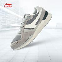 李宁休闲鞋男鞋运动生活系列复古经典耐磨防滑运动鞋ALKJ001