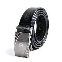 瑞士军刀休闲商务皮带自动扣腰带裤带BA4032