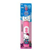 【当当海外购】美国直邮 Oral-B欧乐B 儿童牙刷迪士尼图案电池入 Hello kitty款 海外购