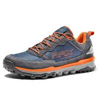 【店铺首页领券满299减200】RAX新品防滑徒步鞋 男登山鞋减震保暖户外鞋