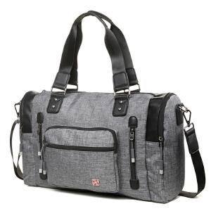 瑞士军刀时尚休闲大容量旅行袋运动包SA9819
