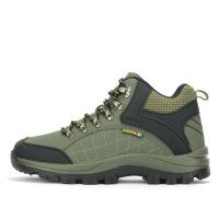 金贝勒 防滑耐磨高帮情侣登山鞋 加绒保暖户外鞋男女款徒步旅游鞋运动鞋 1152-2252