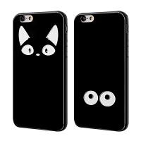 【全国包邮】hidog 苹果iPhone6s手机壳4.7个性简约6s plus保护套软黑边潮男女