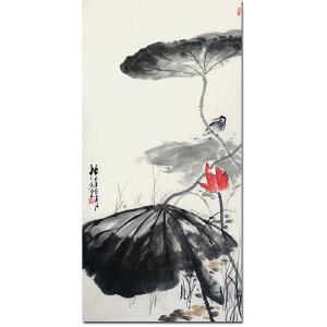中国书画家联合会秘书长 萧四五【悟】138*69CM  Z0337
