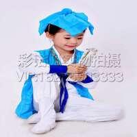 三字经读书郎表演出服装 书童演出服装 国学服装 弟子规六一儿童古装汉服