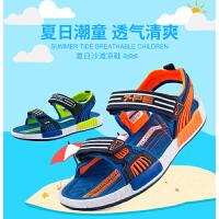 七波辉 2017夏季新款男童凉鞋儿童休闲沙滩鞋男童凉鞋学生鞋潮