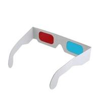 3幅装卡纸3D眼镜 3D红蓝纸眼镜 纸质3D眼睛 纸制3D红蓝眼镜