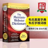 华研原版 Merriam-Webster Dictionary 韦氏英语词典 英文原版美语字典
