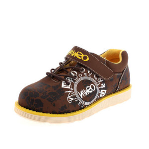 鞋柜时尚简约印花魔术贴休闲男童鞋运动鞋休闲鞋