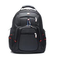 多功能大容量瑞士军刀15寸时尚休闲防水抗撕裂双肩背包户外旅行电脑包