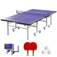 红双喜乒乓球台/乒乓球桌标准折叠式T2023