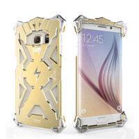 捷力源三星s6 edge手机壳s6 edge手机保护套5.2英寸金属保护壳  G9250变形金刚保护套
