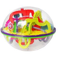 爱可优 3D立体迷宫球幻智力球挑战智力 儿童益智玩具球 创意玩具 299关939幻智