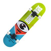 成人儿童滑板双翘板滑板 专业四轮滑板刷街公路板滑板 新手入门进阶选手滑板 绿眼