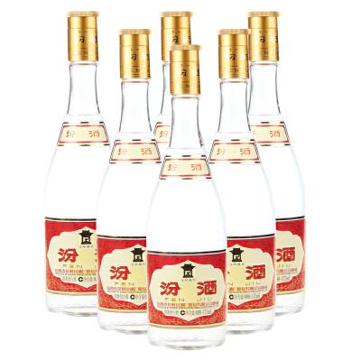 【酒界网】汾酒   53度 玻瓶汾酒 475ml * 6瓶  白酒