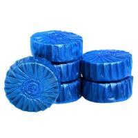魅洁(2枚装)蓝泡泡洁厕宝马桶自动清洁剂5卡10只