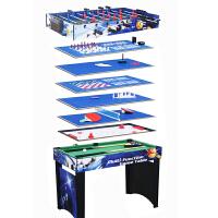 13合1多功能游戏桌乒乓球桌 桌上足球台桌上冰球 国际象棋