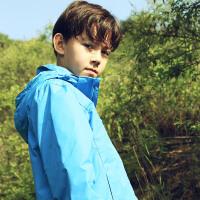 探路者童装 男童三合一套羽绒冲锋服