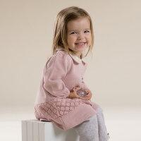 davebella戴维贝拉 女童春装新款长袖连衣裙 女宝宝裙子27073
