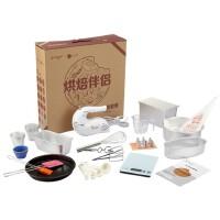 长帝烘焙工具套餐HB02 带打蛋器、厨房秤、蛋糕模具、饼干模具、量勺、量杯,面包模具,8寸活底模具