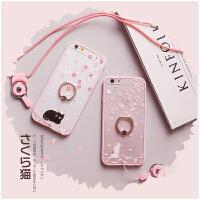 【全国包邮】hidog 苹果iPhone6s手机壳4.7日韩卡通猫咪6s plus保护套软边新女