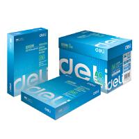 得力文具(deli) 7419 复印纸  莱茵河 打印复印纸A4纸 80克g 500张/包 5包/箱