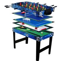 多功能台球桌游戏桌 儿童桌上足球 冰球木质桌游