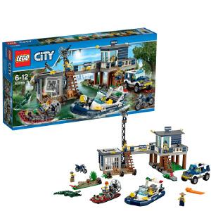 [当当自营]LEGO 乐高 CITY城市系列 沼泽警察局 积木拼插儿童益智玩具 60069