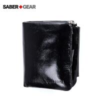SABER+GEAR军刀男士真皮竖款钱包商务休闲钱夹卡包BP7404