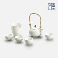 【如果出品】原创陶瓷功夫茶具套装摆件茶壶茶杯整套茶道茶具
