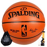 SPALDING/斯伯丁篮球74-570Y PU皮室内外NBA用球