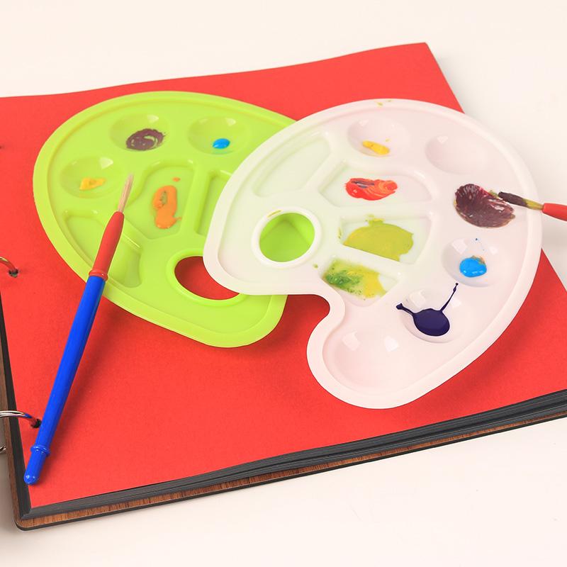 【大贸商办公文具】幼儿园儿童画画绘画美术多功能盘图片
