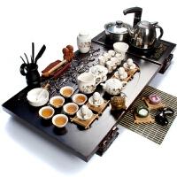 尚帝 紫砂功夫茶具 大号实木茶盘  茶具茶盘套装 陶瓷茶具套装 TZ-CKMDCG025