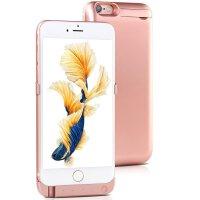 苹果7苹果6专用充电宝iphone7/iphone6背夹电池i7 i6移动电源大容量轻薄充电手机壳10000毫安