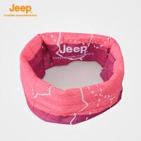 【全场2.5折起】Jeep/吉普 户外运动百变魔术头巾男女骑行防晒面罩J660161148