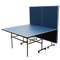 标准室内 乒乓球台 乒乓球桌台折叠移动式面板