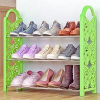 索尔诺铁艺简易鞋架 多层收纳鞋柜简约经济型组装防尘鞋架子XJH163